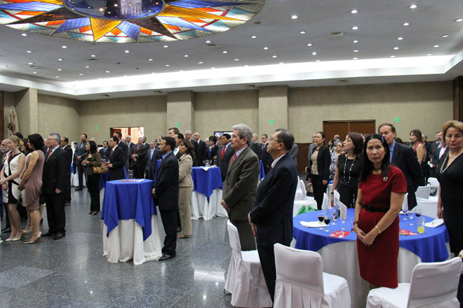 Meksikada 28 May - Respublika Günü münasibətilə rəsmi qəbul keçirilib (FOTO)