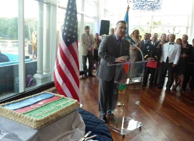 Vaşinqtonda 28 may - Respublika Günü qeyd olunub (FOTO)