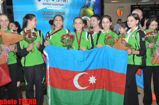 Gənc gimnastlar özlərini Azərbaycan gimnastikasının gələcəyi kimi tanıtdılar - məşqçi (FOTO)