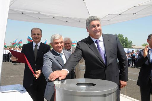 Azərbaycanda yeni Olimpiya İdman Kompleksinin təməli qoyulub (FOTO)