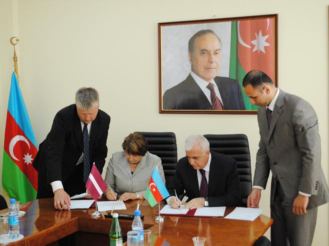 Azərbaycan və Latviya kənd təsərrüfatı üzrə hüquqi bazanı genişləndirir (FOTO)