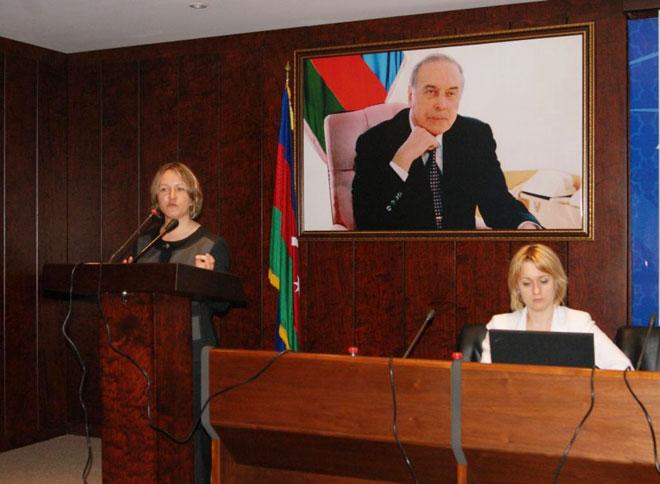 Azərbaycanda banklar üçün MHBS-də olan yeniliklərə aid seminar keçirilib (FOTO)