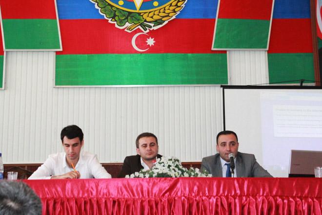Azərbaycan Gənclər Fondunun bölgələrdə təqdimatları davam edir (FOTO)