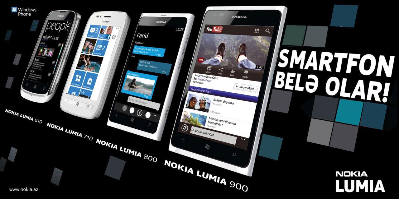 Nokia Lumia - Smartfon belə olar! (FOTO)