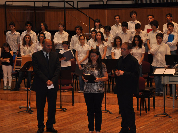 Milanda Xocalı soyqırımına həsr edilmiş konsert keçirilib