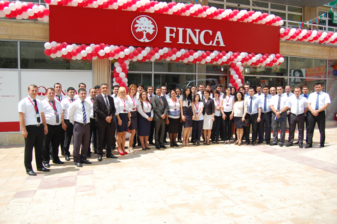 """""""FINCA Azerbaijan""""ın Mərkəz filialının yeni ofisi açıldı"""
