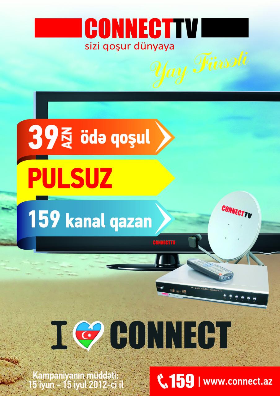 """Connect-dən """"Yay Fürsəti"""" kampaniyası (FOTO)"""