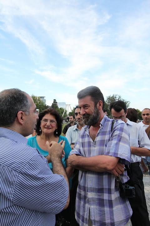 """""""YARAT!"""" təşkilatı Hüseyn Haqverdinin """"Zamanı aşaraq"""" layihəsini təqdim edib (FOTO)"""