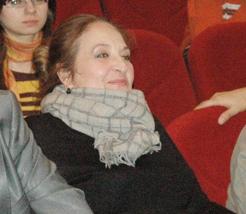 Nikita Mixalkov Şəfiqə Məmmədovanı təbrik edib (FOTO)