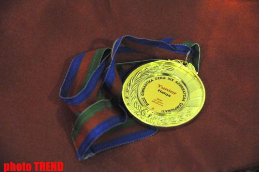 Aliyə Qarayeva beşqat Azərbaycan çempionu oldu (FOTO)