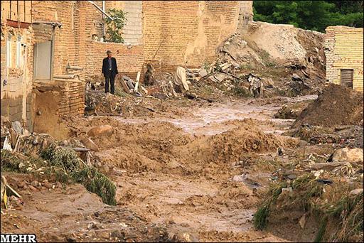 İran'da sel can aldı