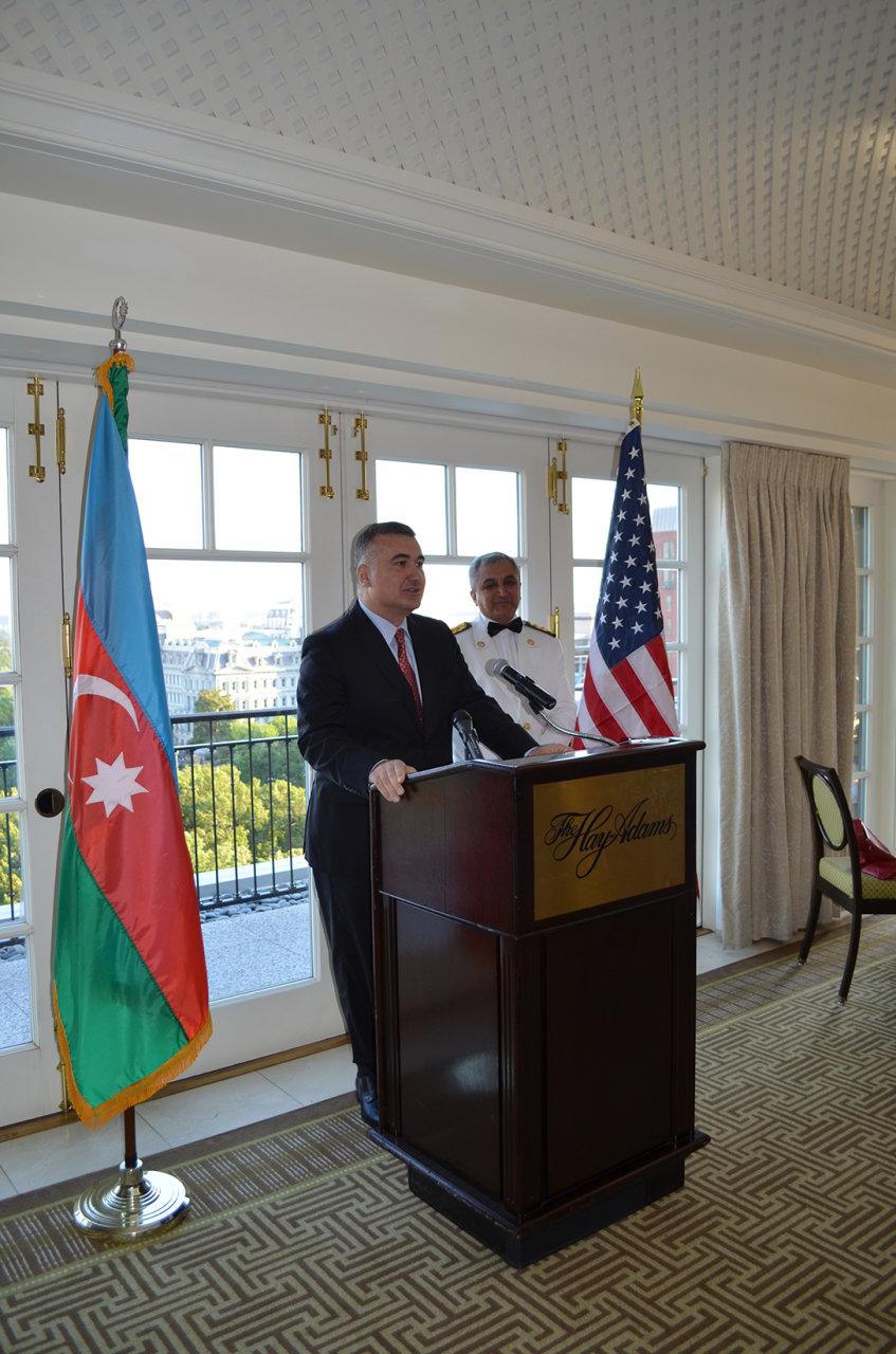 Vaşinqtonda Azərbaycan Respublikasının Silahlı Qüvvələri Günü qeyd edilmişdir (FOTO)