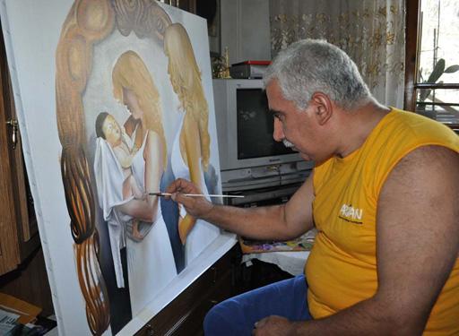 """В Тольятти проходит выставка Эльнура Расулова: """"Это хурма. Зрелая, яркая, как талант живописца из Азербайджана """""""