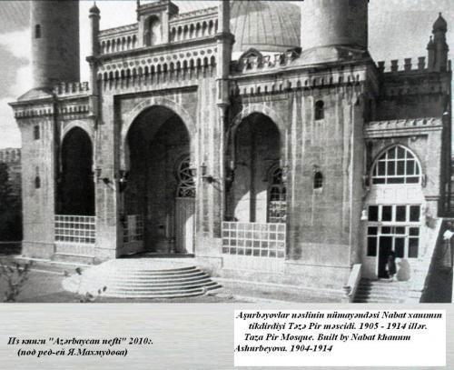 """Набат Ашурбекова - женщина, построившая мечеть """"Тезе Пир"""" (фото)"""