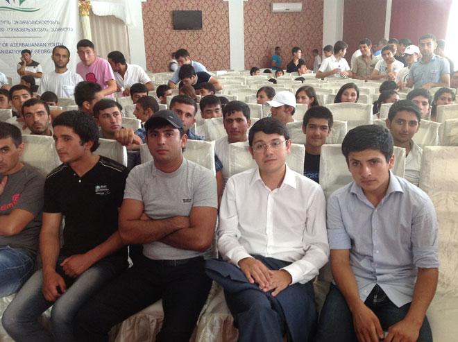 Gürcüstanda azərbaycanlı gənclərin assambleyası yaradılıb (FOTO)