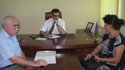 Deputat seçiciləri ilə görüşdü (FOTO)