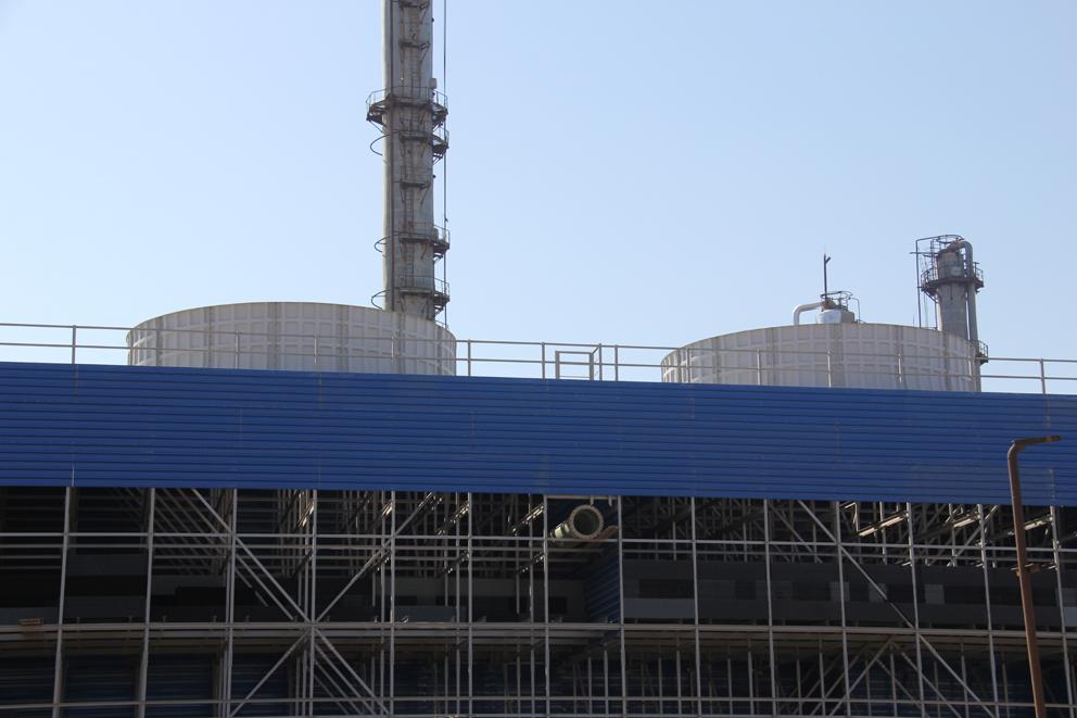 """""""Azərikimya"""" İB-nin Etilen-polietilen zavodunun yeni susoyutma qurğusunun inşasında mühüm mərhələ başlayıb (FOTO)"""