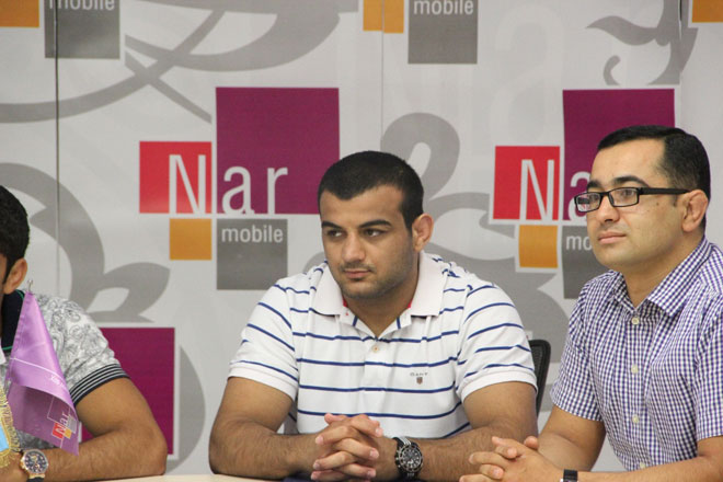 Nar Mobile welcomes Olympics' winners at its new head office