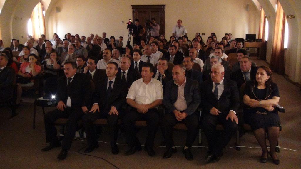 Xocavənd rayonunun Ermənistan tərəfindən işğalının ildönümü ilə bağlı anım tədbiri keçirilib (FOTO)