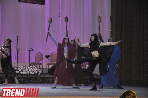 Bakıda Nizami Gəncəvinin 870 illik yubileyinə həsr olunmuş gecə keçirilib (FOTO)