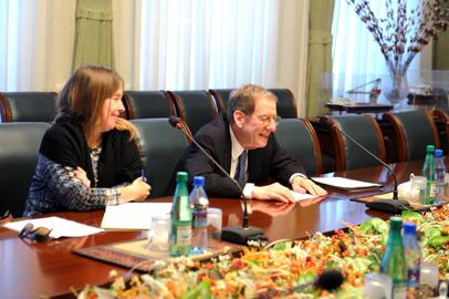 Riçard Morninqstar: Azərbaycanda son illər neft-qaz sektorunun inkişafında ARDNŞ mühüm rol oynayır (FOTO)