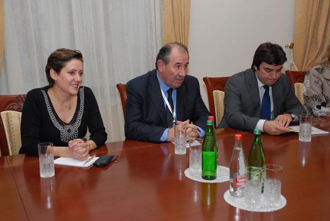 Elmar Məmmədyarov Argentina-Azərbaycan Parlamentlərarası Dostluq Qrupunun üzvlərini qəbul edib (FOTO)