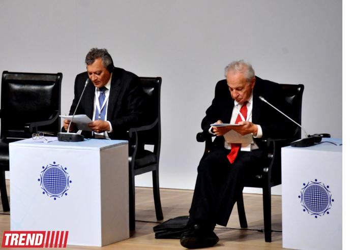 Azərbaycanda II Bakı Beynəlxalq Humanitar Forumu keçirilir (FOTO)