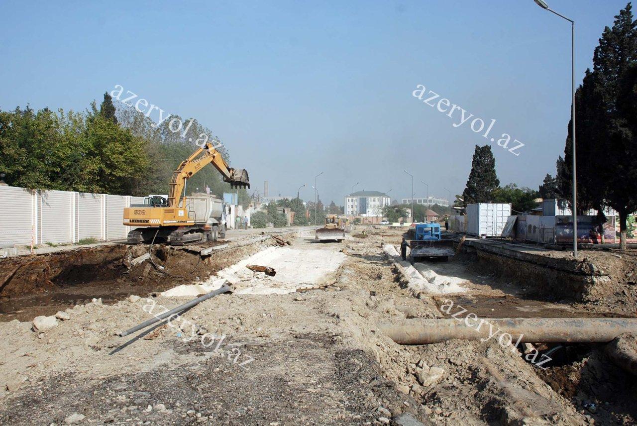 Bakıda daha bir yeni avtomobil tuneli və yeraltı piyada keçidi tikilir (FOTO)