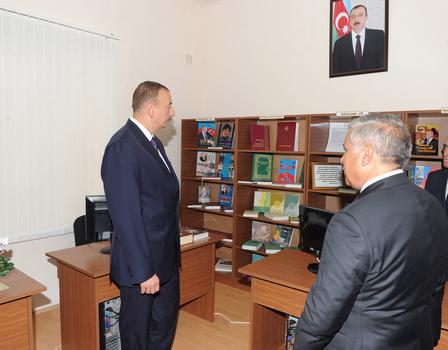 Azərbaycan Prezidenti Zərdabda Gənclər Mərkəzinin açılışında iştirak edib (FOTO)