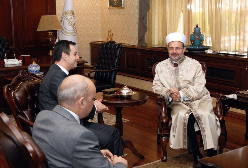 Dövlət Komitəsinin sədri: Azərbaycan-Türkiyə qardaşlığının möhkəm əsasları var (FOTO)