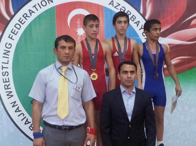 Yeniyetmə güləşçilərin respublika turnirində ikinci günün nəticələri (FOTO)
