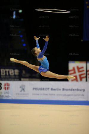 Azərbaycanlı gimnast Berlində Qran-pri seriyası yarışında iki medal qazanıb (FOTO)