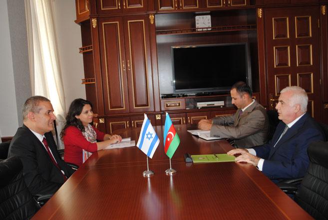 Azərbaycan İsrailə aqrar sahədə əməkdaşlıq üzrə sazişin imzalanmasının sürətləndirilməsini təklif edir (FOTO)