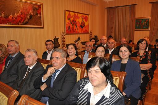 """""""Ədəbi Nobel antologiyası""""nın təqdimatı keçirilib  (FOTO)"""