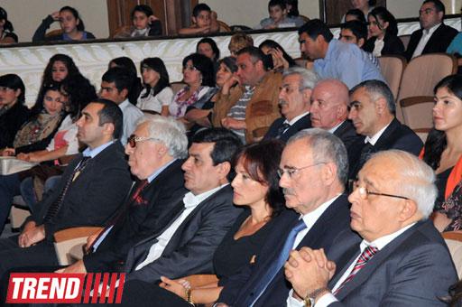 В Баку состоялось торжественное мероприятие, посвященное 130-летию Гусейна Джавида  (фотосессия)