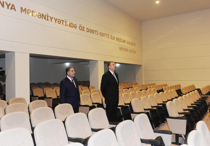 İlham Əliyev Beyləqanda Mədəniyyət Sarayının açılışında iştirak edib (FOTO)