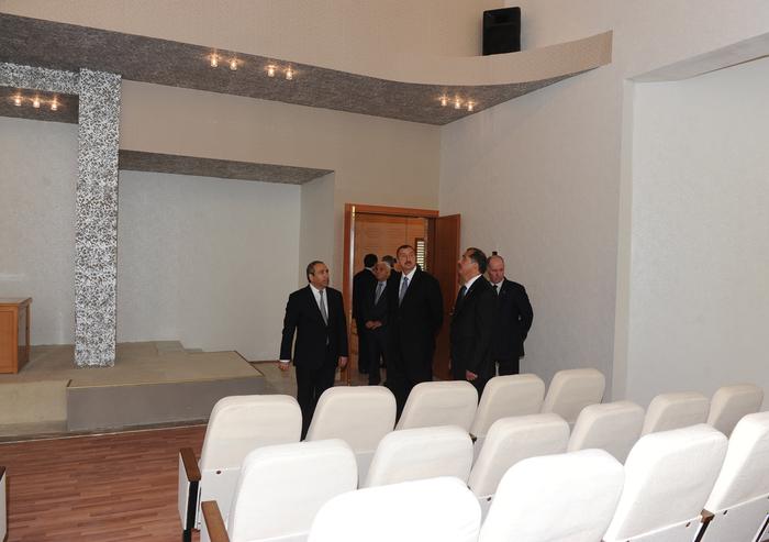 İlham Əliyev İmişlidə Heydər Əliyev Mərkəzinin açılışında iştirak edib (FOTO)