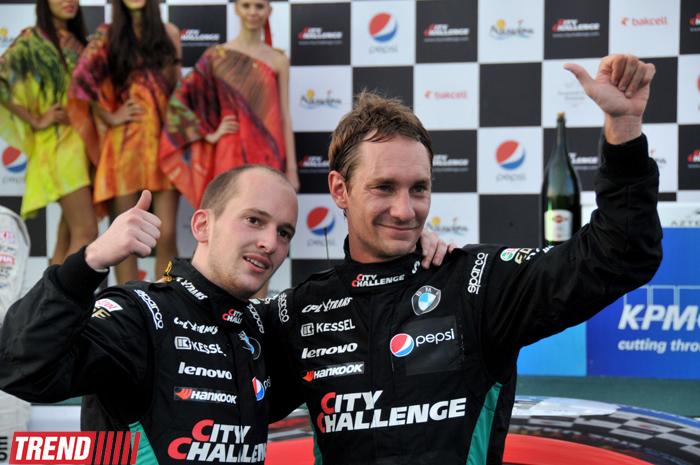 """Bakıda """"City Challenge"""" yarışlarının GT3 finalının qalibi müəyyənləşib (FOTO)"""