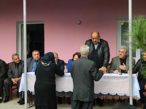 Bərdə və Tərtər rayonlarında məskunlaşmış məcburi köçkün ailələri ilə görüş keçirilib (FOTO)