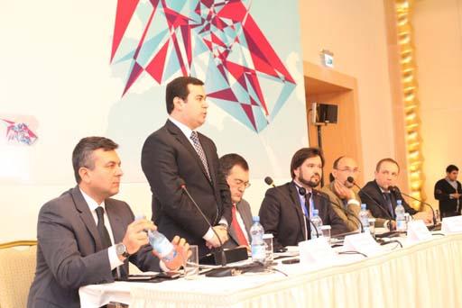 """Bakıda """"Sərhədsiz gənclər əməkdaşlığı"""" beynəlxalq forumunun açılış mərasimi keçirilib (FOTO)"""