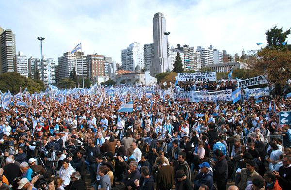 В итоге беспорядков встолице Аргентины пострадали 17 человек