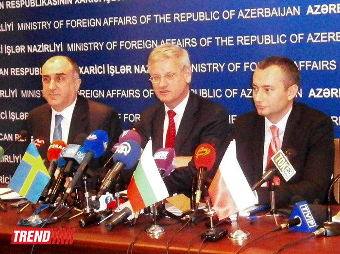 Heads of Foreign Ministries: EU interested in further cooperation with Azerbaijan (PHOTO)