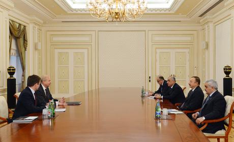 Президент Азербайджана принял исполнительного директора компании bp (ФОТО)