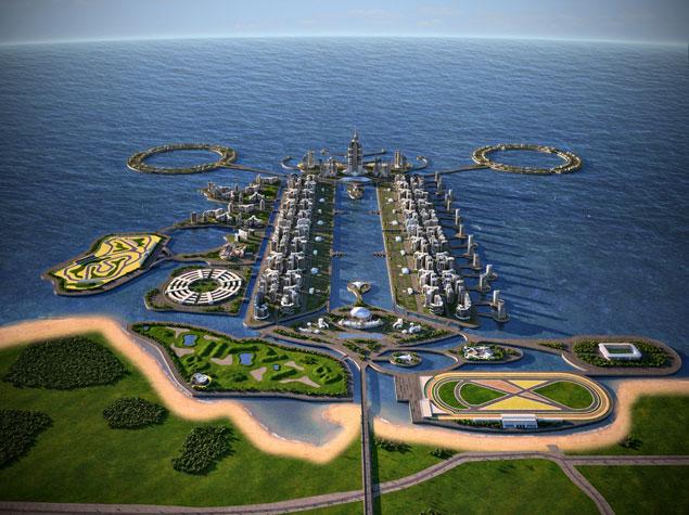 Khazar Islands воскрешают под новым именем