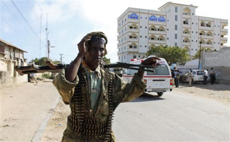 Somalidə sülhməramlılara atəş açdılar - Ölən və yaralananlar var