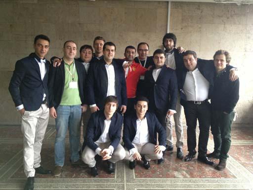 Объединённая команда КВН из Азербайджана сразится с соперниками из России и Беларуси