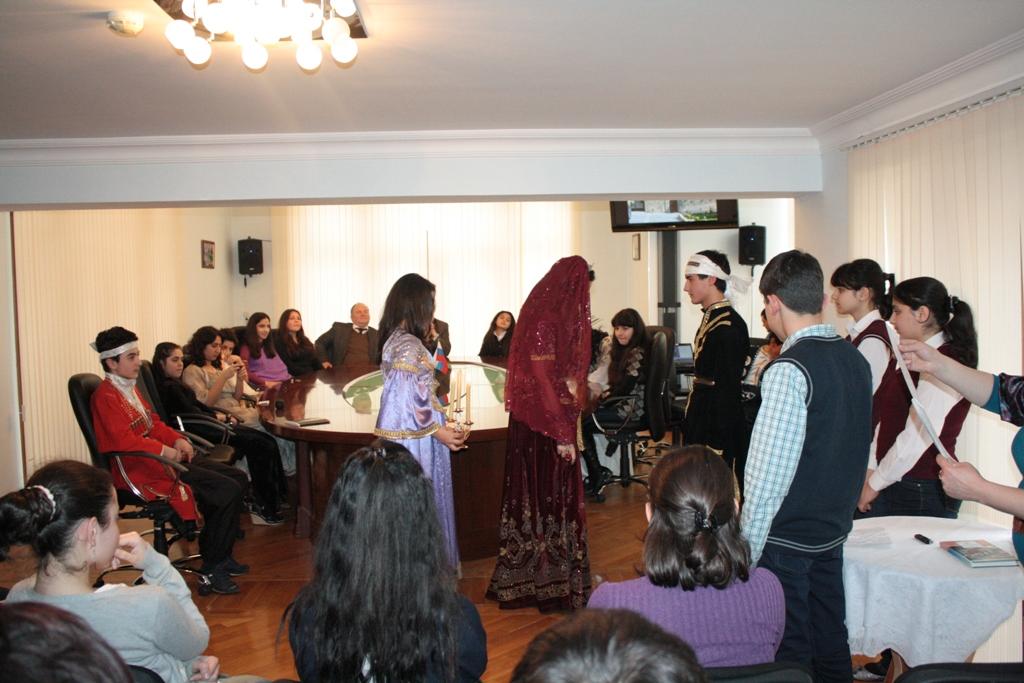 В Баку прошел вечер, посвященный русскому поэту В.А.Жуковскому (фото)