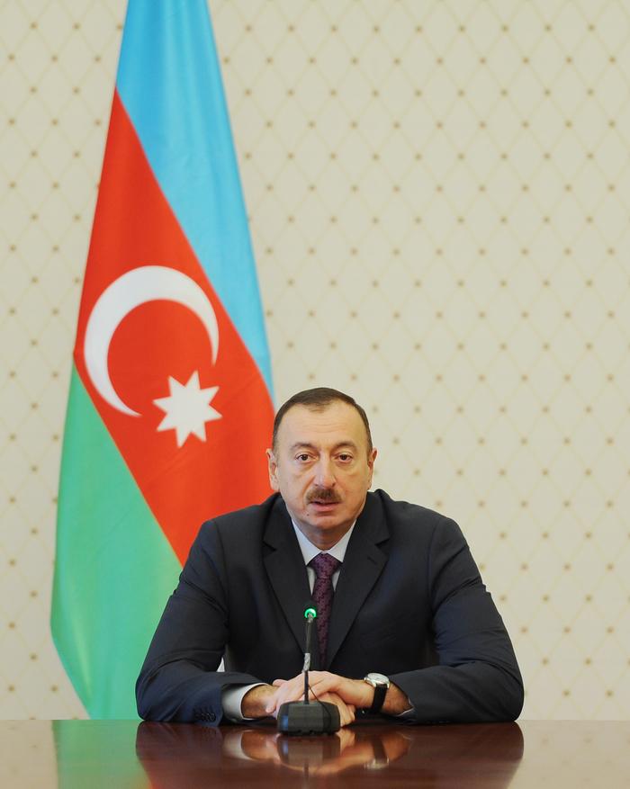 Президент Азербайджана принял участников XVI заседания Совета руководителей государственных информационных агентств СНГ