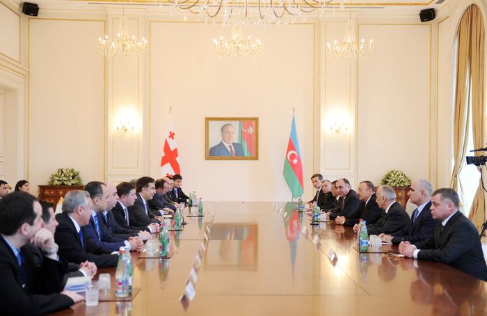 Президент Ильхам Алиев: Необходимо обеспечить полную преемственность стратегического партнерства между Грузией и Азербайджаном