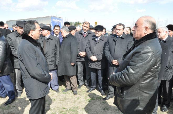Tapqaraqoyunlu kəndinin içməli su probleminin birdəfəlik həll ediləcək (FOTO)